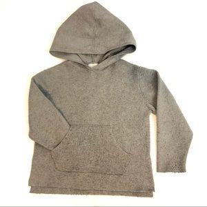 Zara hooded grey long sleeve sweater
